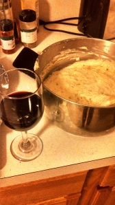 wine and batter
